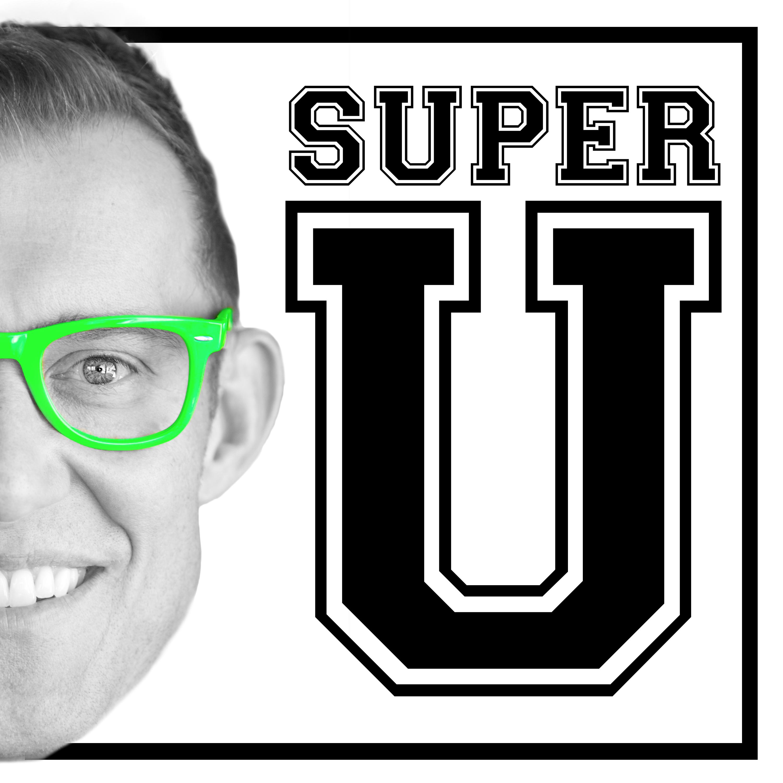 Super U Podcast show art