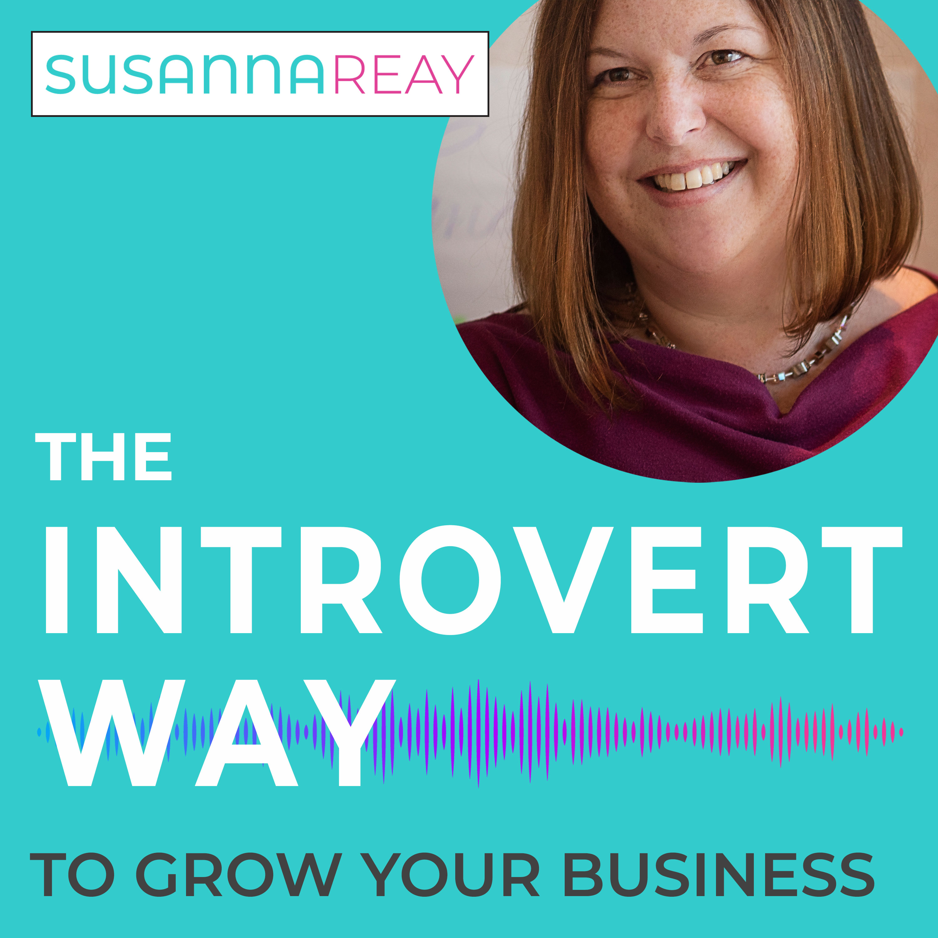 The Introvert Way ... to grow your business show art