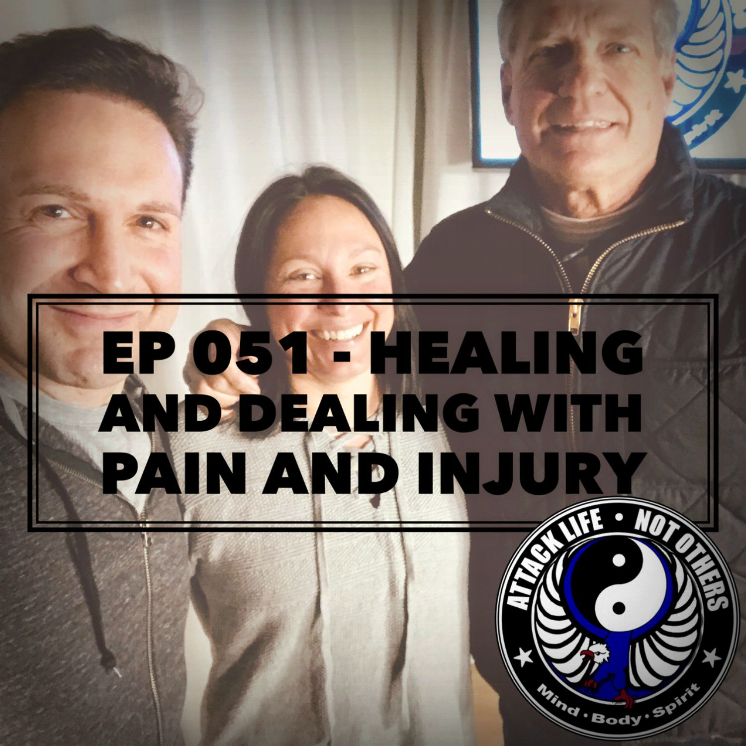 Artwork for Ep 051 - Healing and Dealing with Pain and Injury