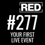 Artwork for RED 277: Your First Live Event w/ Amy Broghamer