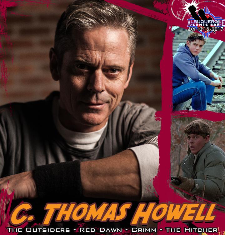Artwork for C. Thomas Howell preview - Albuquerque Comic Con