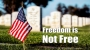 """Artwork for """"Freedom Is Not Free"""""""