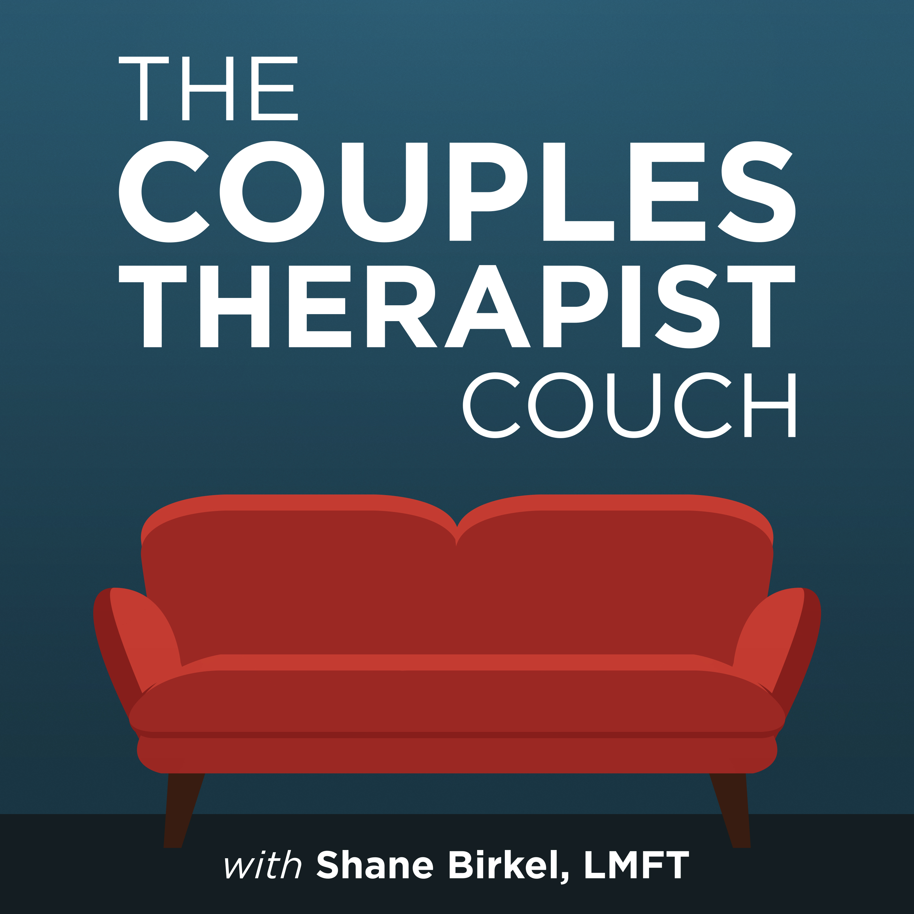 The Couples Therapist Couch show art