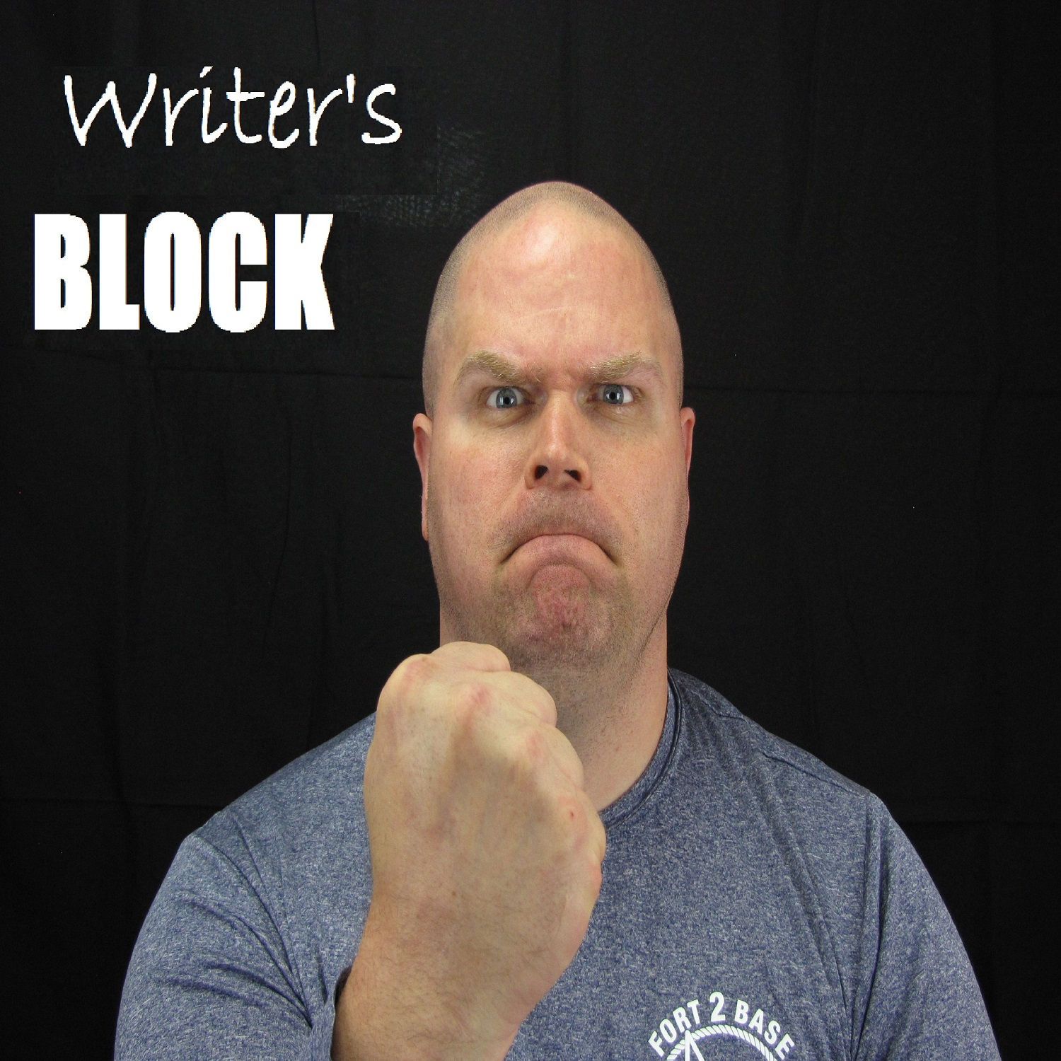 Writer's BLOCK by John Hamrick show art