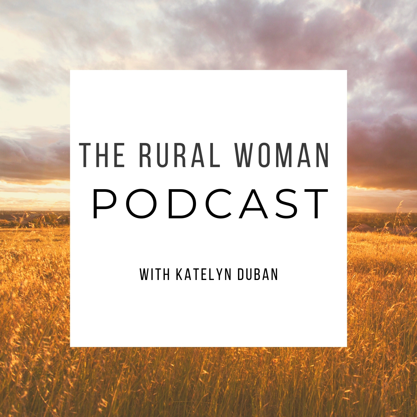 The Rural Woman Podcast show art