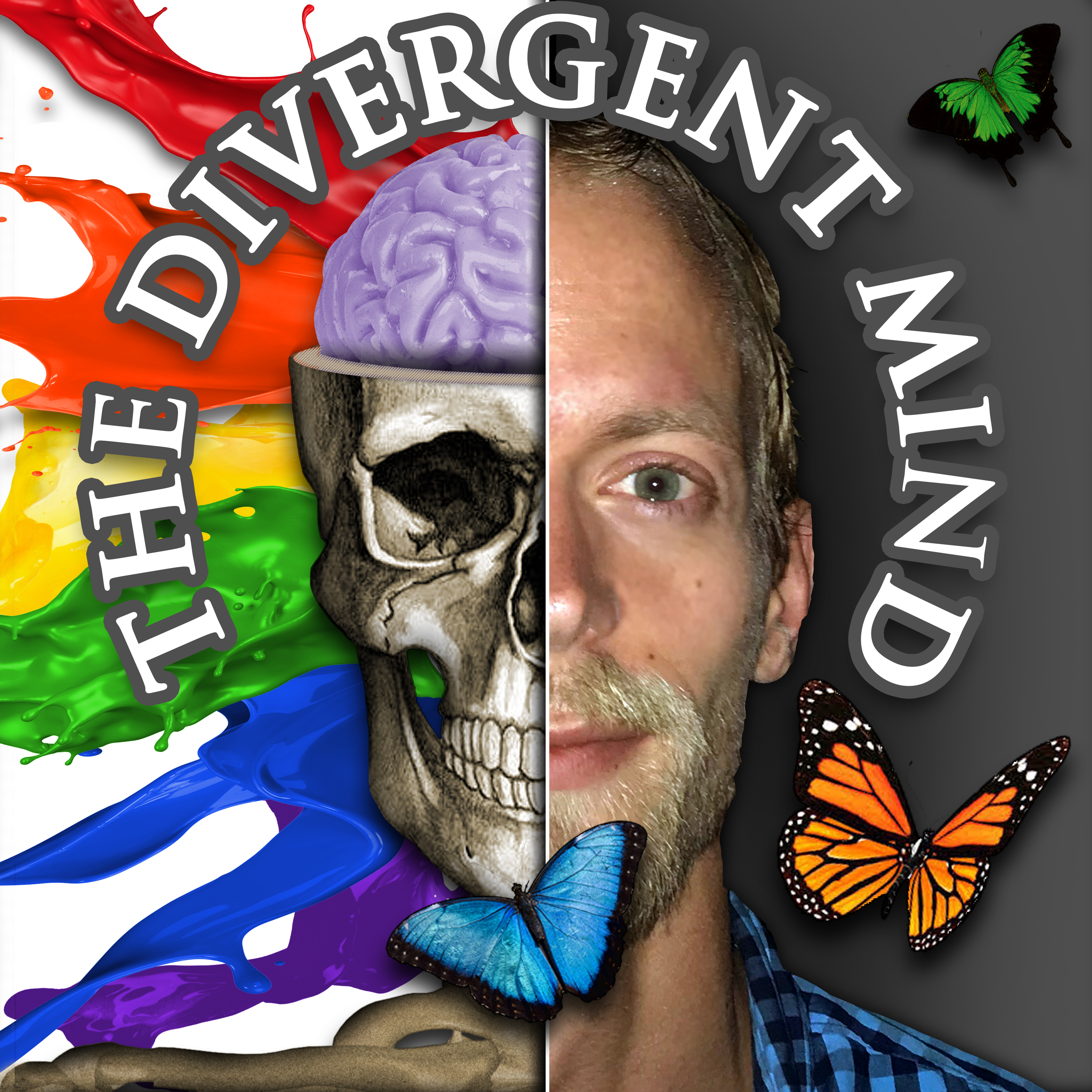 The Divergent Mind : Positive & Motivational Mindset show art