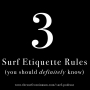 Artwork for 3 Surf Etiquette Rules You Should Know