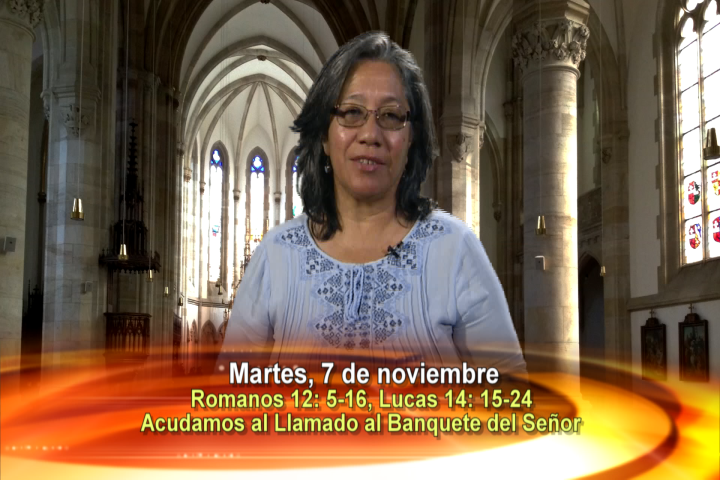 Artwork for Dios te Habla con Lidia Mendoza,   Tema el hoy: Acudamos al llamado al banquete del Señor.