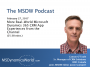 Artwork for MSDW Podcast: More real world Microsoft Dynamics 365 CRM app experiences from the channel