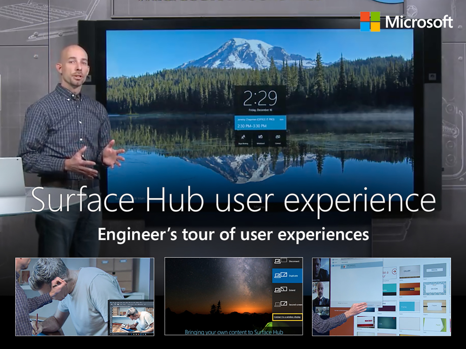 Artwork for An engineer's tour of Microsoft Surface Hub user experiences