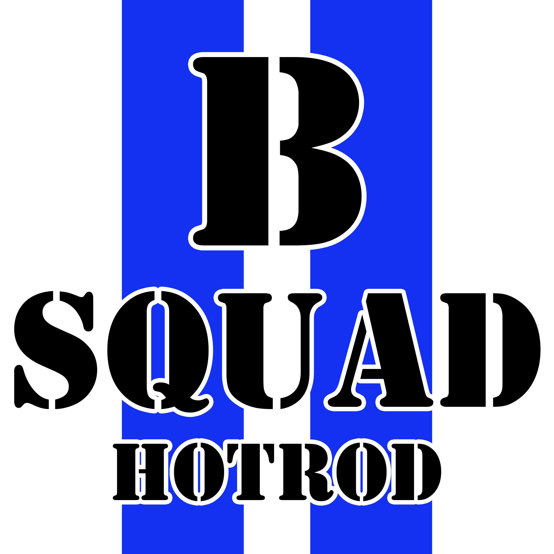 B Squad Hotrod show art