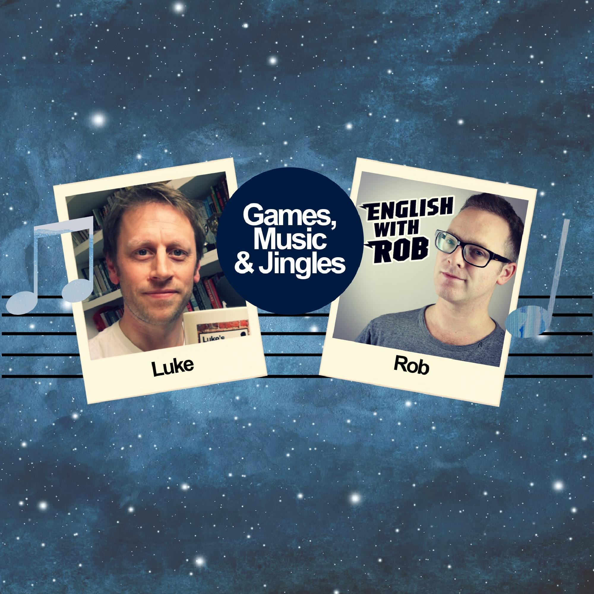 728. English with Rob / Games, Music & Jingles