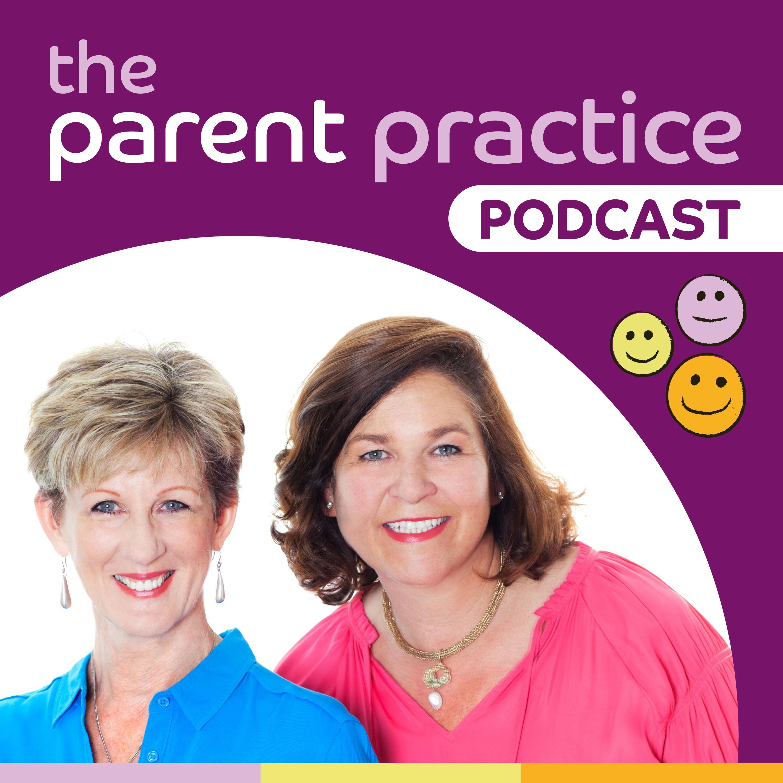 The Parent Practice Podcast show art