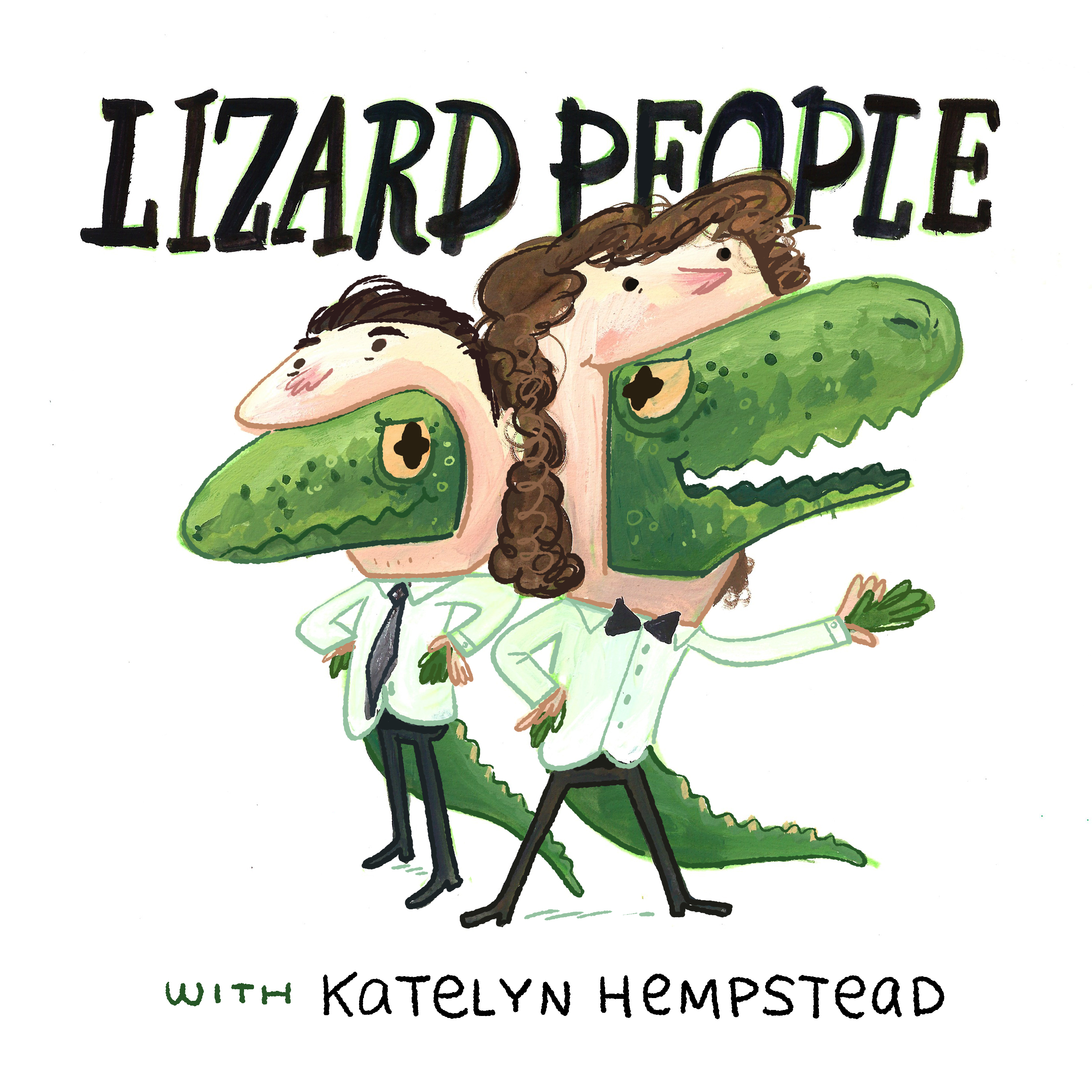 Lizard People: Comedy and Conspiracy Theories show art