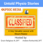 Artwork for Untold Physio Stories 164 - A Very Valuable Lesson with Shawn Riester