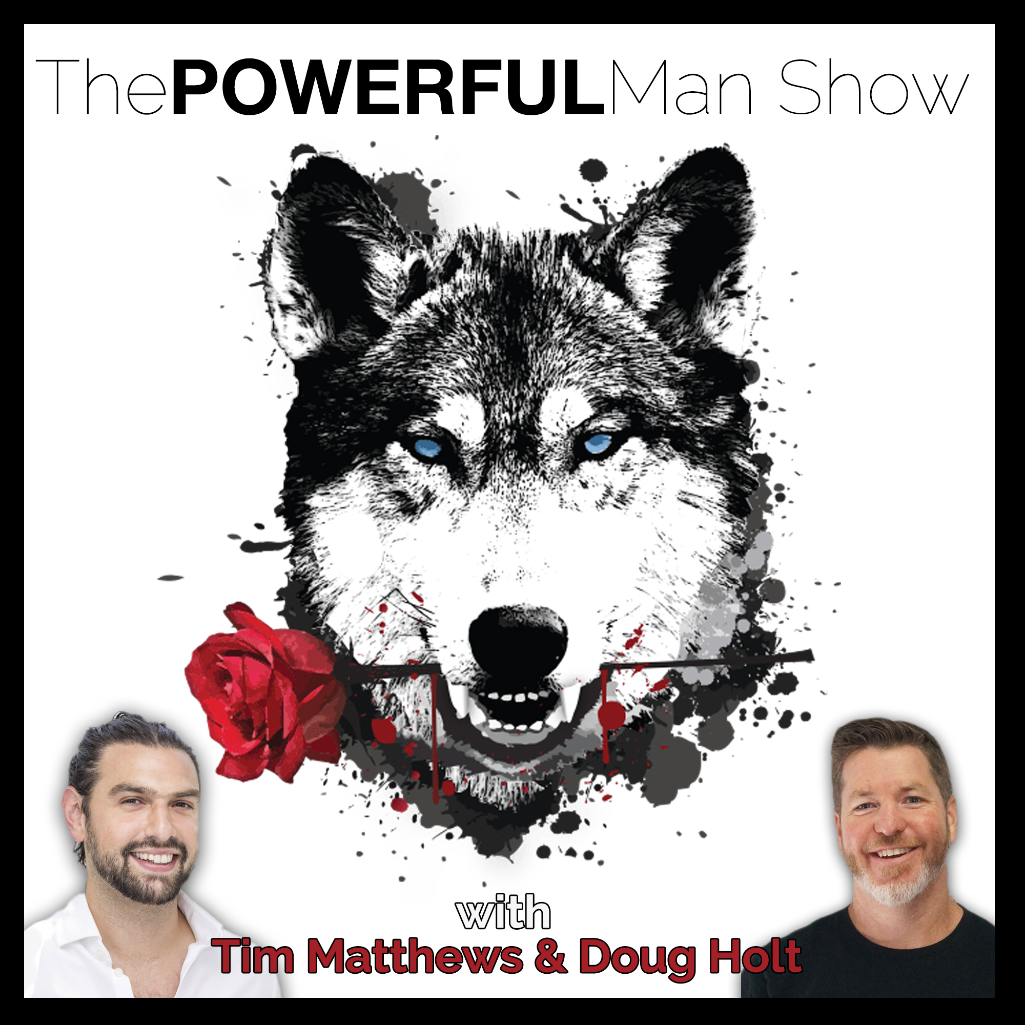 The Powerful Man Show show art
