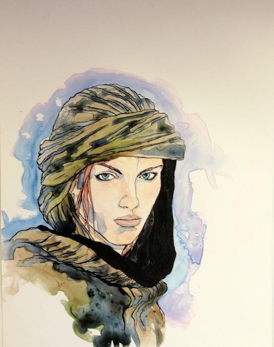 tWoTART: Jordancon4 artshow AVIENDHA
