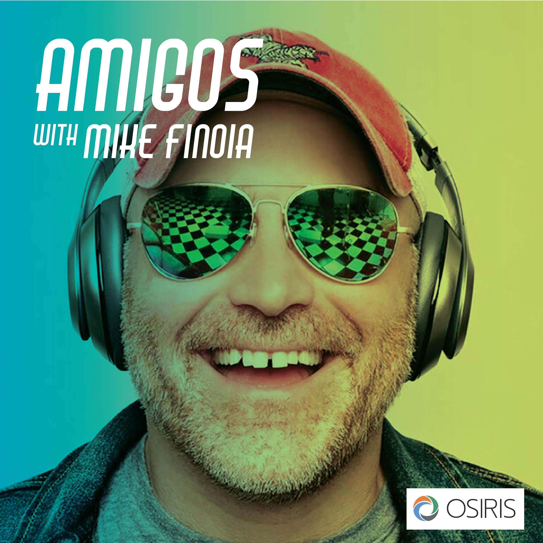 Amigos with Mike Finoia show art