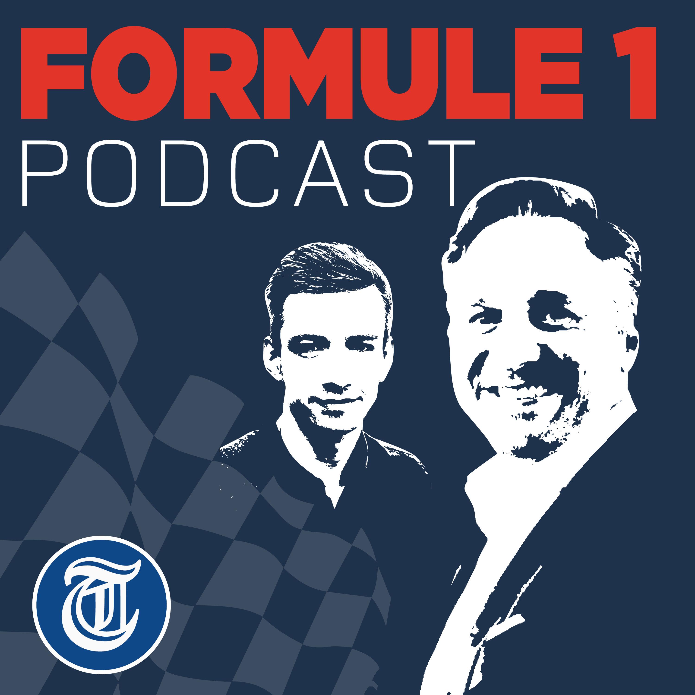 Telegraaf Formule 1 podcast show art