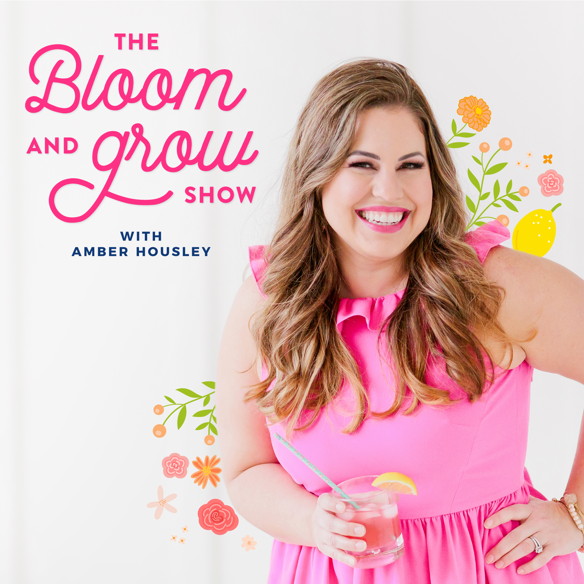 The Bloom & Grow Show with Amber Housley show art
