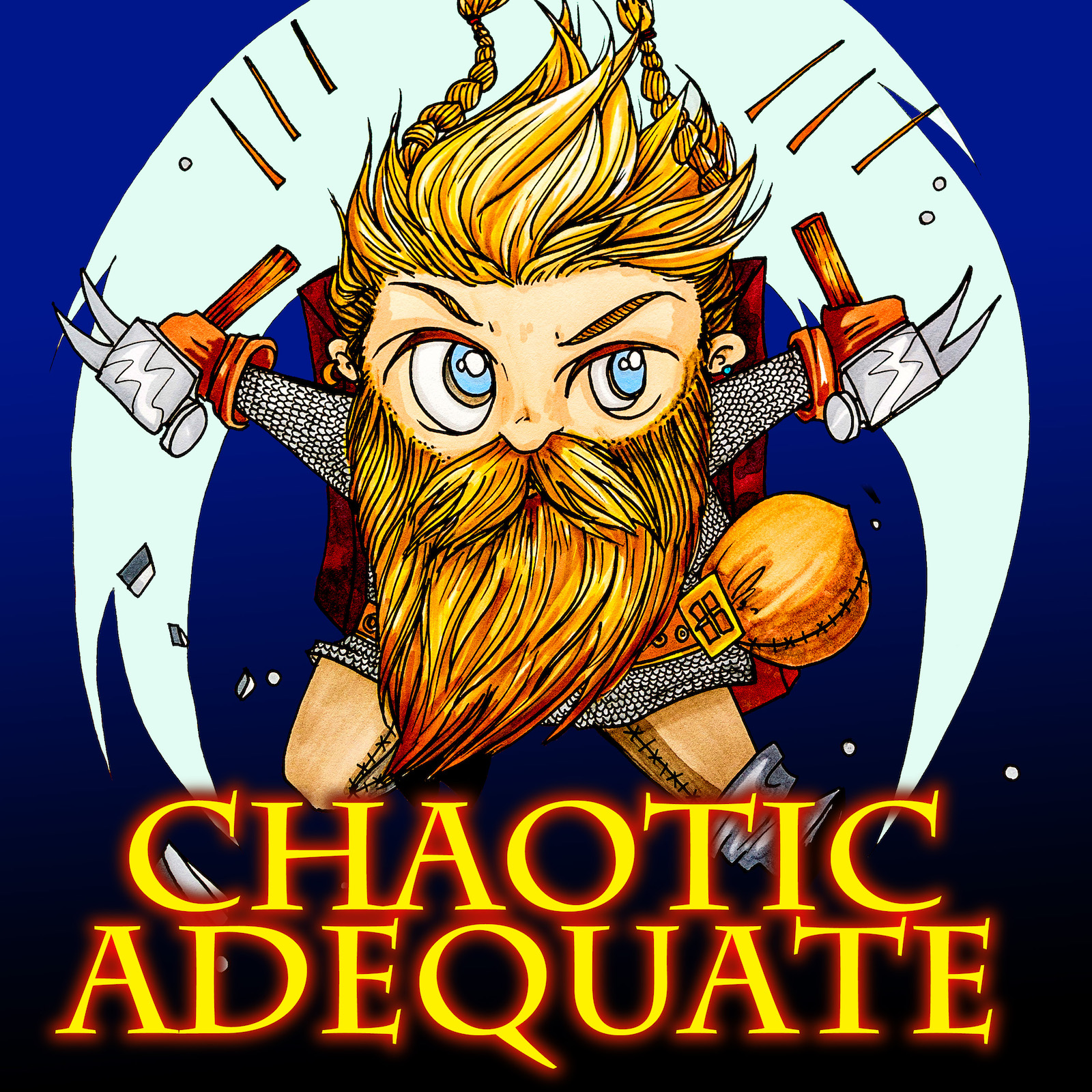 Artwork for CHAOTIC ADEQUATE 1 - Travel, Taverns and Tiffs