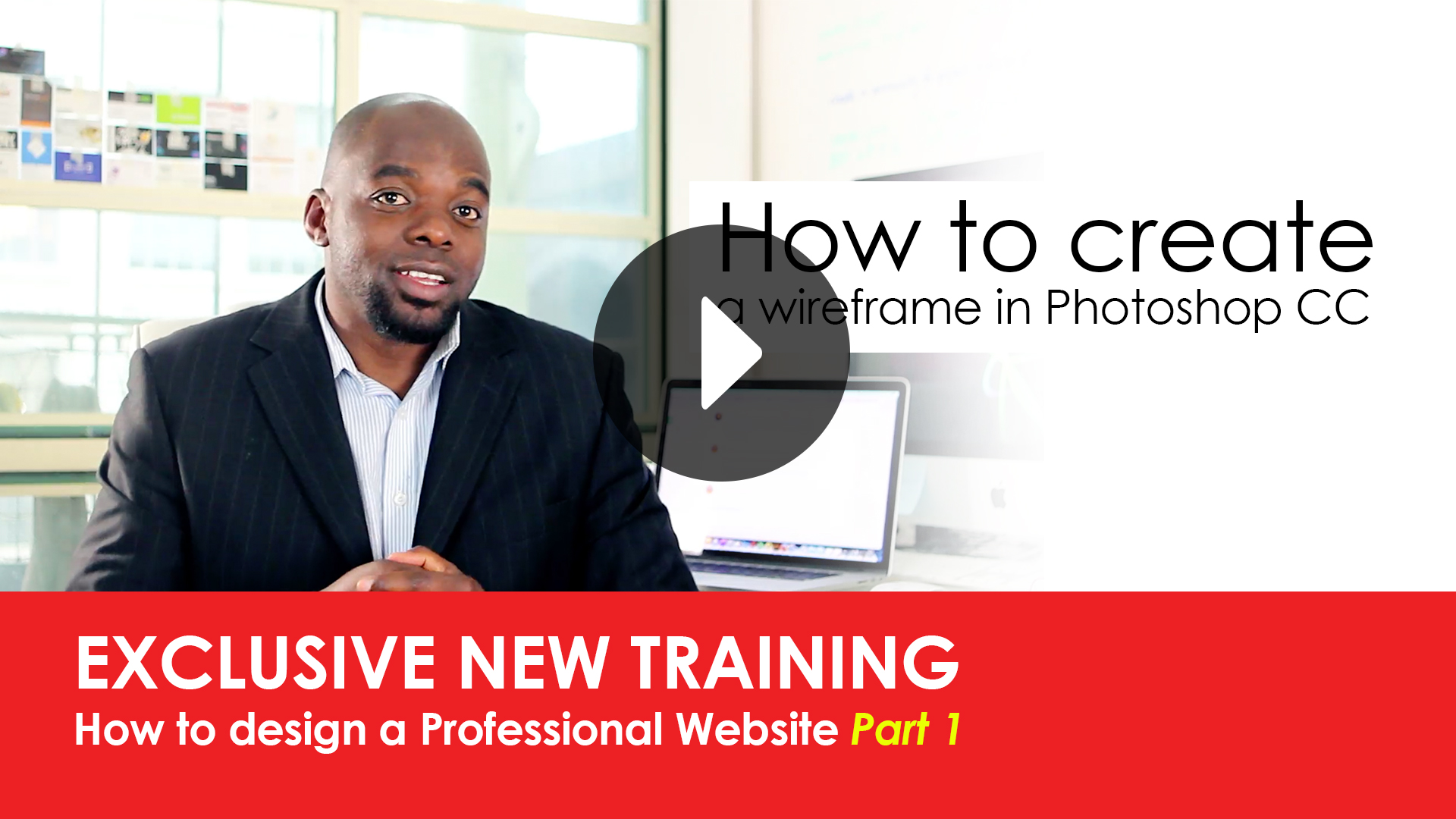 Learn how to Design a Professional Website Part 1