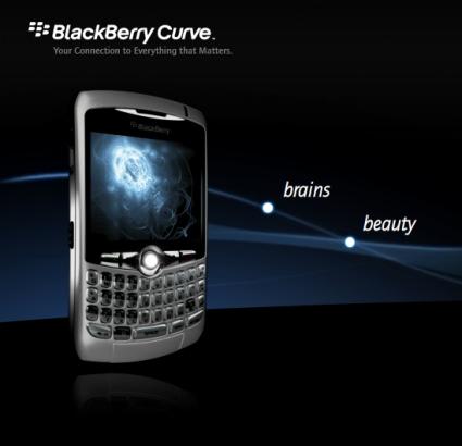 Con ustedes... El BlackBerry Curve