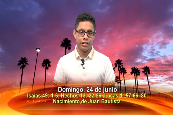 Artwork for Dios te Habla con Anthony Paredes, Tema el hoy: Nacimiento de Juan Bautista.