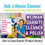 Artwork for Weiman Granite and Stone Cleaner and Polish (Product Review)