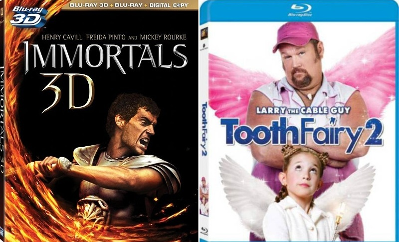 #129 - IMMORTALS on Blu-ray, TOOTH FAIRY 2 and TODD AND THE BOOK OF PURE EVIL