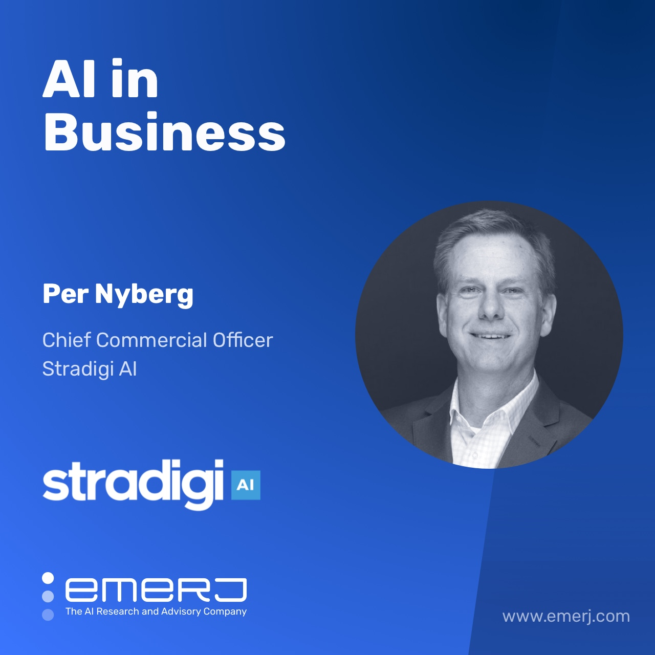 What Does AI-Enabled Work Look Like? - with Per Nyberg of Stradigi AI