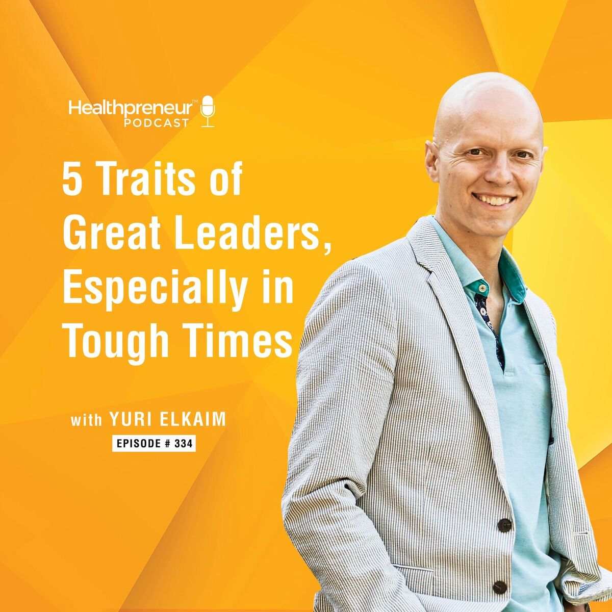 334 - 5 Traits of Great Leaders, Especially in Tough Times show art