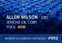 Artwork for 002: Allen Wilson - CEO Jericho Oil Corp