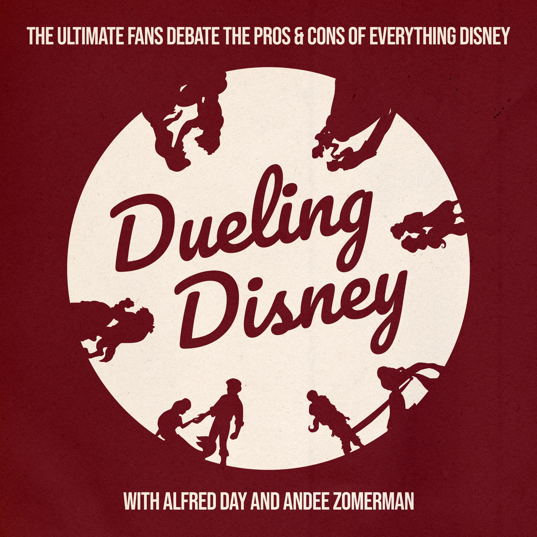 Dueling Disney show art