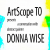 KQEK.com / ArtScopeTO --- Interview with abstract painter Donna Wise (2021) show art