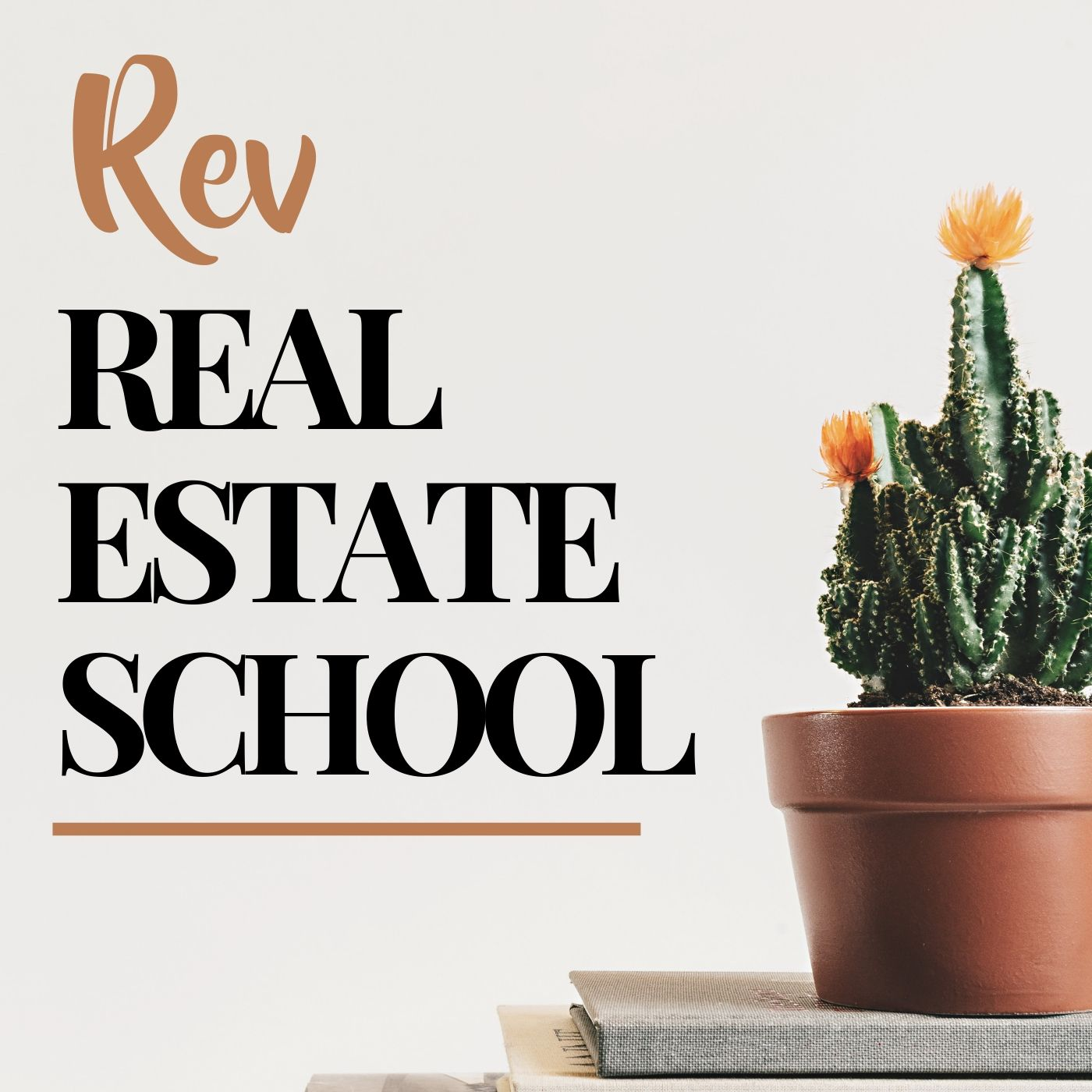 Rev Real Estate School | Real Estate Agent Podcast  show art