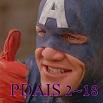 PDAIS 2~18 Captain America (1990)