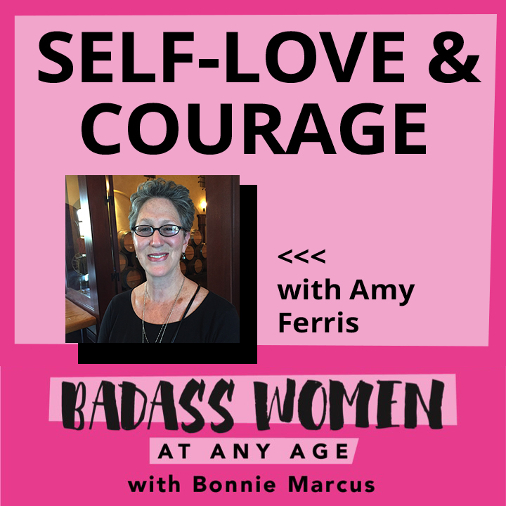 Artwork for 082  Self-Love and Courage with Amy Ferris