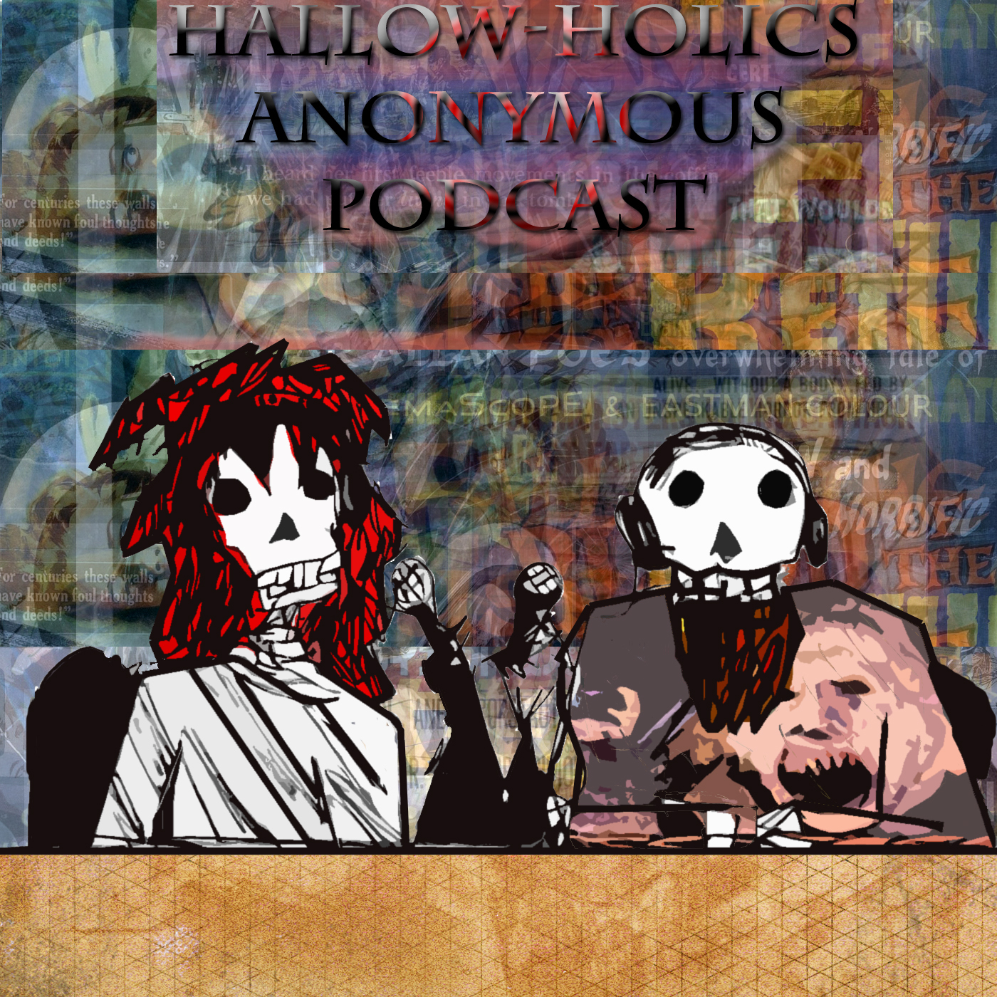 Hallow-Holics Anonymous Podcast show art