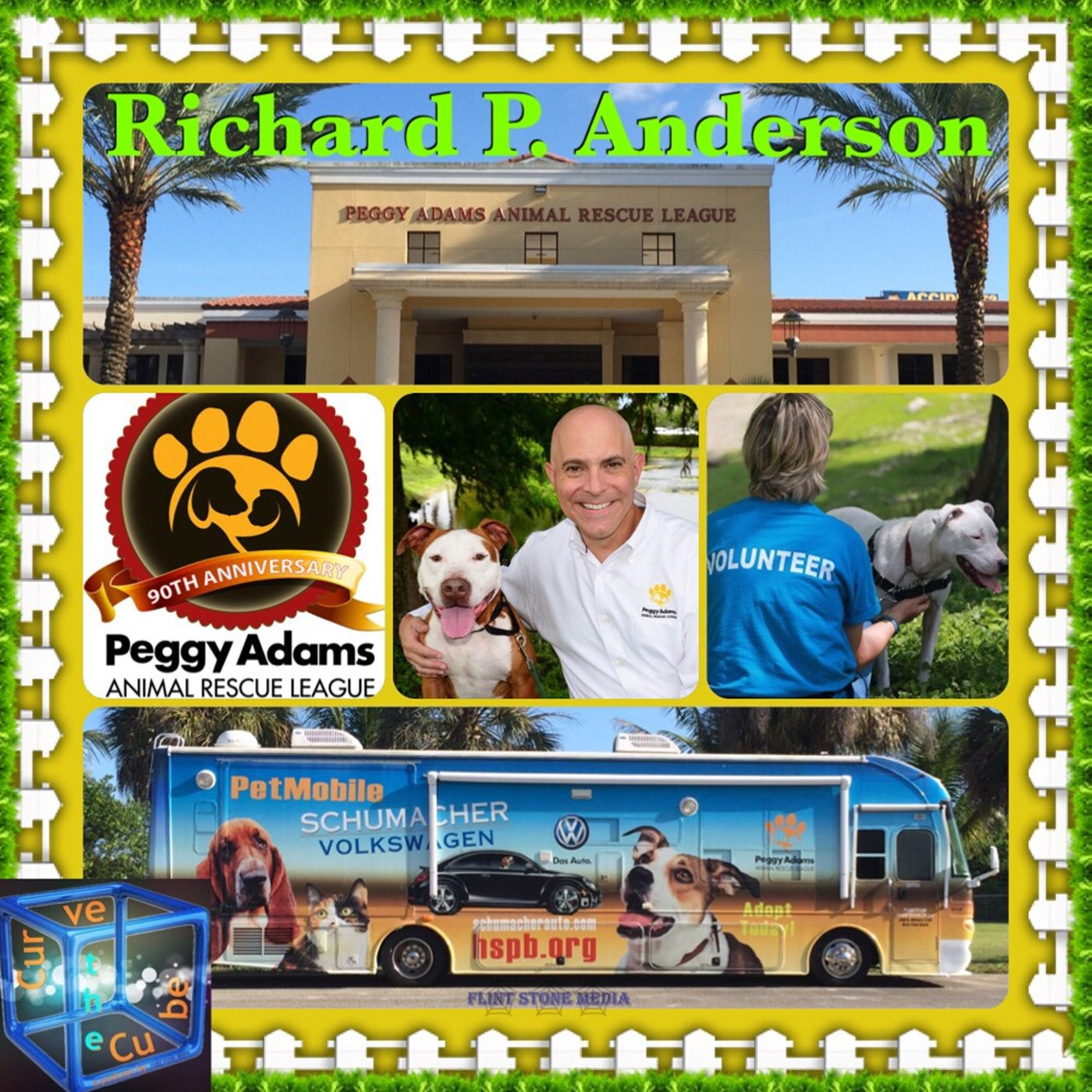 Richard P. Anderson, Executive Director & CEO of the Peggy Adams Animal Rescue
