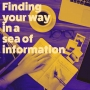 Artwork for Finding your way in a sea of information discussion