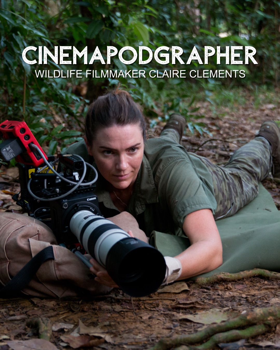 Wildlife filmmaker Claire Clements