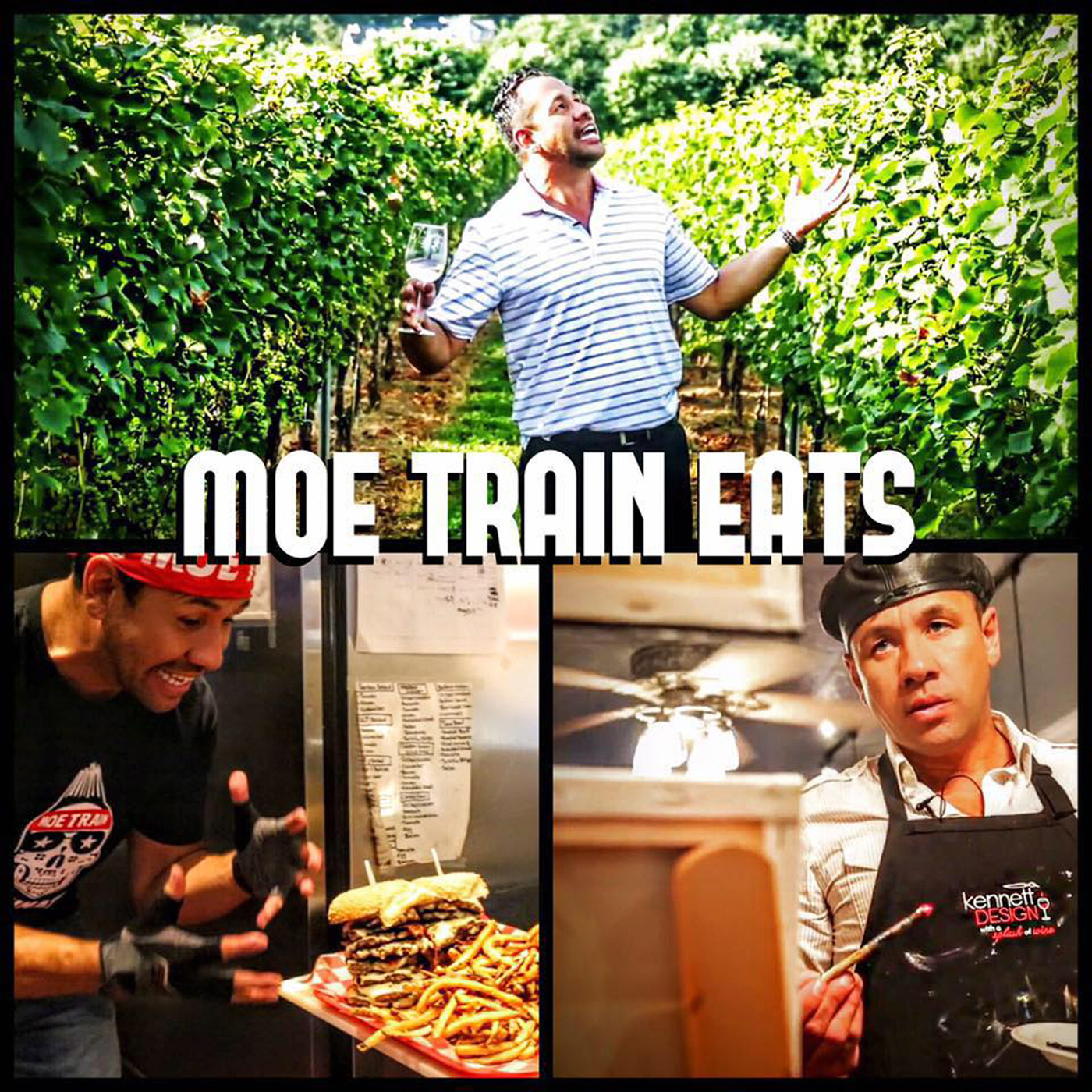Moe Train Eats Podcast (Food, Beer, Wine, Drink, Art, Music and Lifestyle Show) logo