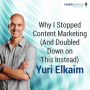 Artwork for 84 - Why I Stopped Content Marketing (And Doubled Down on This Instead)