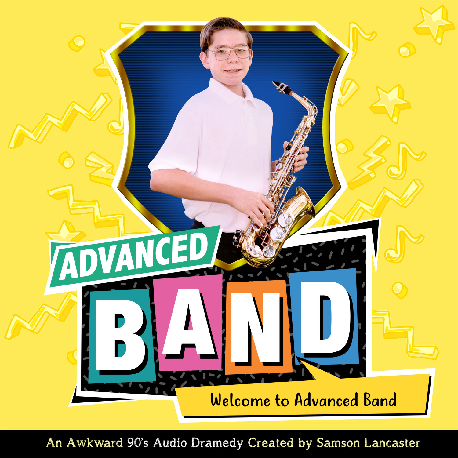 Advanced Band - An awkward 90's Audio Dramedy from Strength in Gaming show art