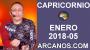 Artwork for CAPRICORNIO ENERO 2018-05-28 Ene al 03 Feb 2018-Amor Solteros Parejas Dinero Trabajo-ARCANOS.COM