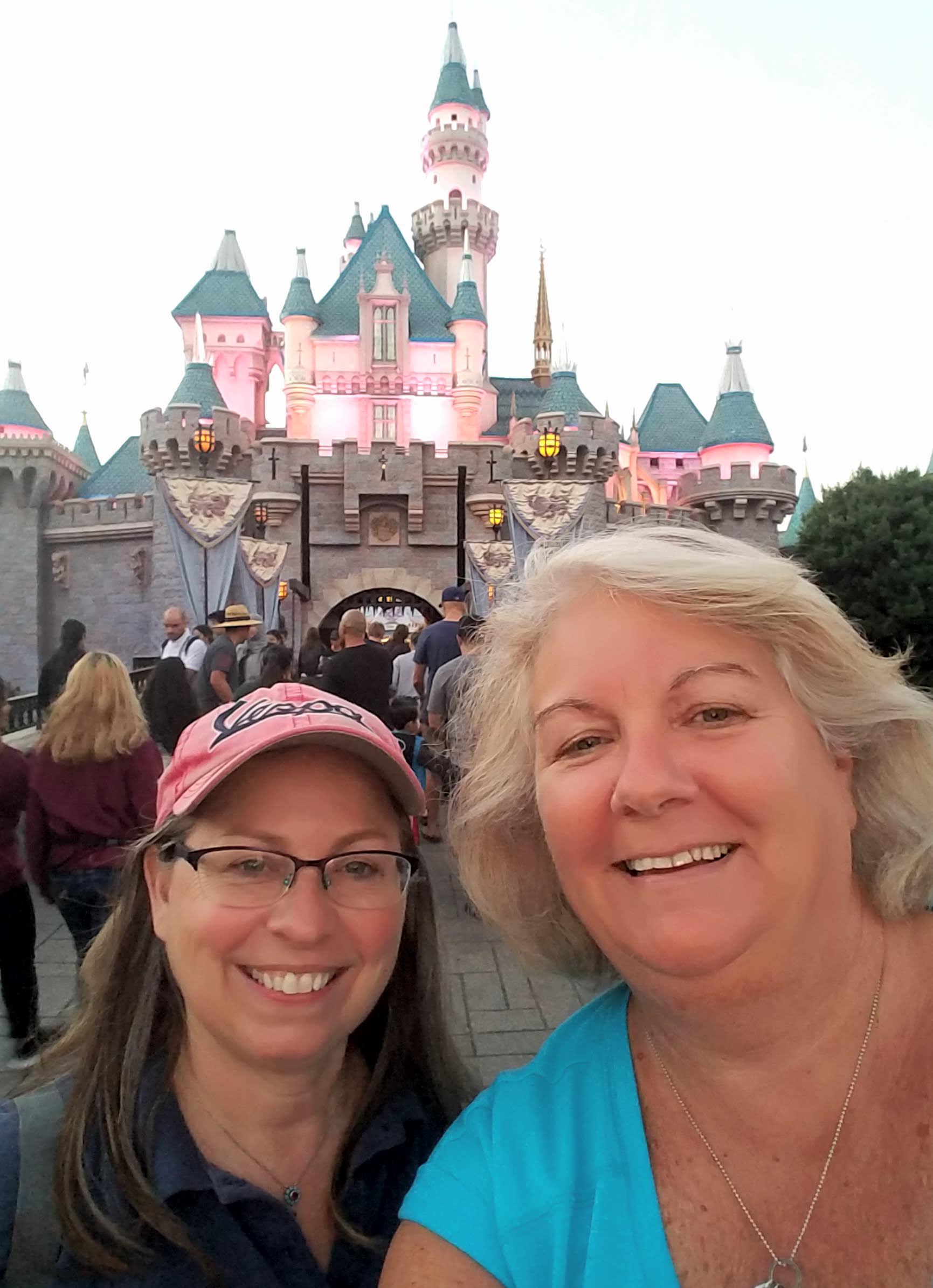 Marcy & Beth visit Disneyland