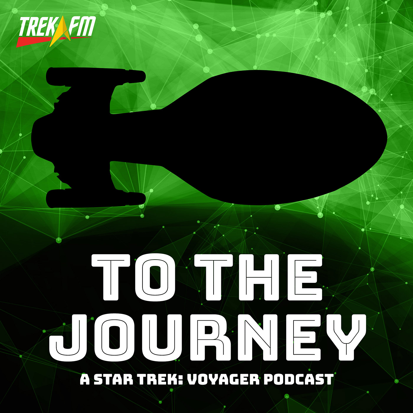 To The Journey: A Star Trek Voyager Podcast show art