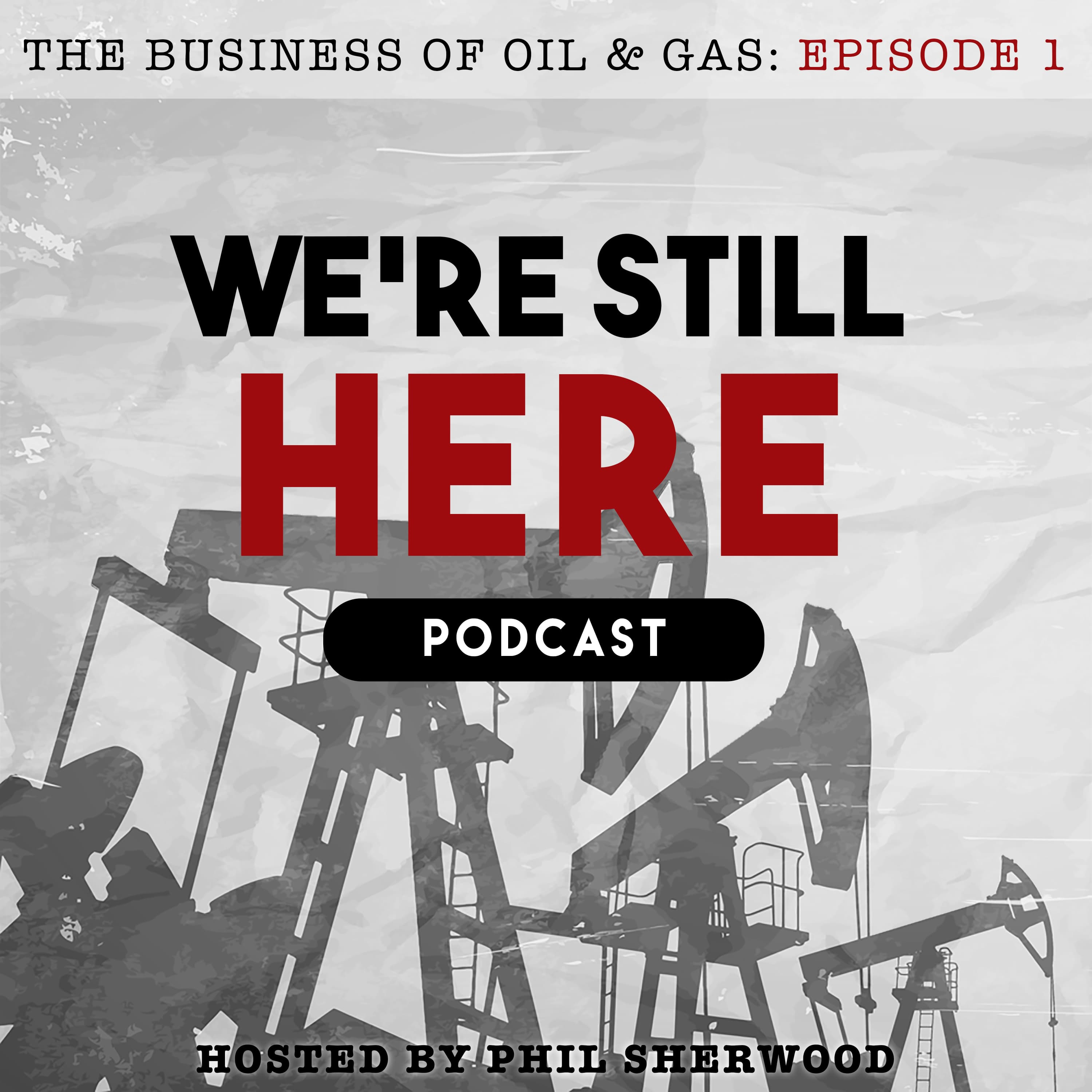 We're Still Here Podcast show art