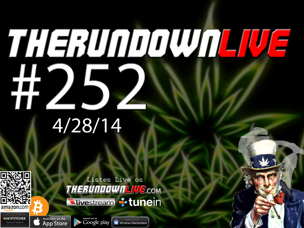 The Rundown Live #252 Melissa Sargent (Marijuana,Legalization,Privacy,News)